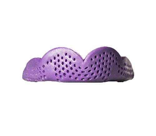 SISU mundschutze Max 2,4mm Custom Fit Sport Mundschutz für Jugendliche/Erwachsene, S24-PP-1, Purple Punch, Original