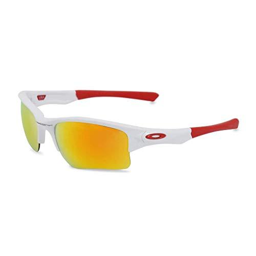 Oakley Herren Sonnenbrille weiß, gelb verspiegelt UV3, NEU & OVP mit Tasche