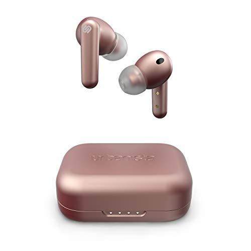 Urbanista London True Wireless In Ear Kopfhörer Noise Cancelling Kopfhörer, 25h Laufzeit, Hi-Fi Stereo So&, Bluetooth 5.0, Integriertes Mikrofon, Kompatibel Android & iOS, Rosa