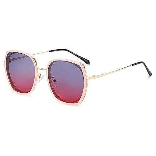 GUANGE Gafas de sol polarizadas para mujer, de gran tamaño, protección UV400, para conducir, ciclismo, golf, pesca, correr, vela, esquí, regalos para damas, color rosa