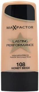 Women Max Factor Lasting Performance # 108 Honey Beige Foundation 35 ml 1 pcs sku# 1760009MA