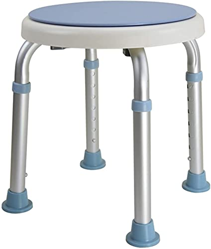 Trintion 360° Duschhocker Duschstuhl Badestühle bis 136kg Drehbar Höhenverstellbar rutschfest für Senioren Schwangere