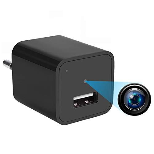 1080P Mini Überwachungskamera Versteckte Kamera Nanny Kleine Kamera & USB-Aufladeeinheit, Bewegung entdecken Überwachungskamera mit 32GB Gedächtnis