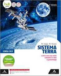 Kit libro scolastico SISTEMA TERRA X 1 BIENNIO * LINEA BLU(9788824765084) 1 copertine trasparenti cavalierini ed evidenziatore