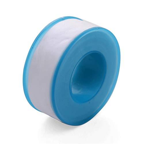 Wasser-Sanitär-Band - Wasserrohr Wasserdicht Trapping-Band-Wasser-Luft Rohrdichtband Rohr Dicht Hahn Leck-Dicht Rohstoff Gürtel (Farbe : White, Size : 1.9cm×15m)