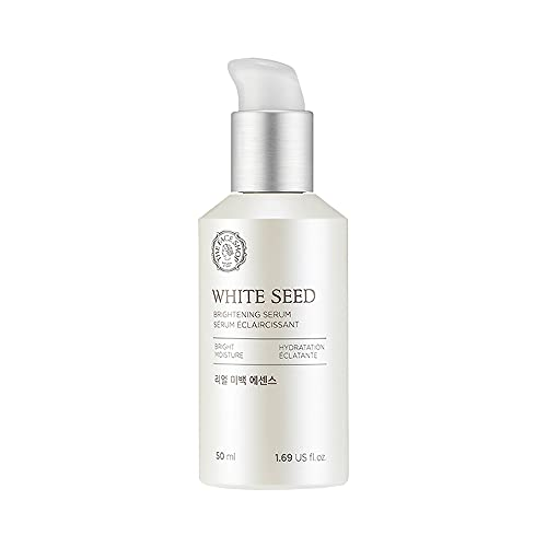The Face Shop White Seed Brightening Face Serum with 2% Niacinamide  Face Serum for Dark Spots & Uneven Skin Tone and Glowing Skin  Face Serum infused with White Daisy Flower extracts to reduce Dullness, for All Skin Types, 50 ml