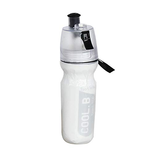 Buy Shentesel Sports Spray Water Bottle Outdoor Portable Hiking Cycling Tool 500ml - Black