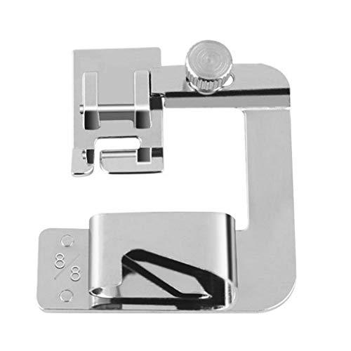 Máquina de Coser eléctrica Multifuncional para Uso doméstico Hemming Foot Hogar y jardín Artes, Manualidades y Costura