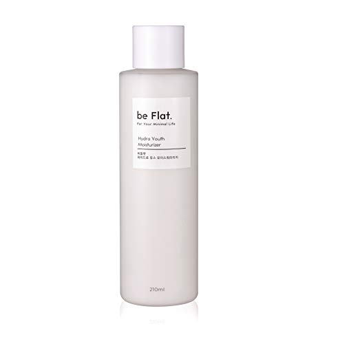 be Flat Hydro Youth Moisturizer 71 oz 210ml Korean Beauty and Facial Skin Care Anti Aging Anti Wrinkle Korean Best Selling Cosmetic For Your Minimal Life 71oz 210ml