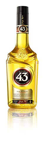 Licor 43 - Licor Único con 43 Ingredientes Naturales - Botella 700 ml