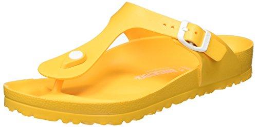 BirkenstockGizeh Eva - Infradito Unisex – Adulto, Giallo (Gelb (Scuba Yellow)), 45 EU