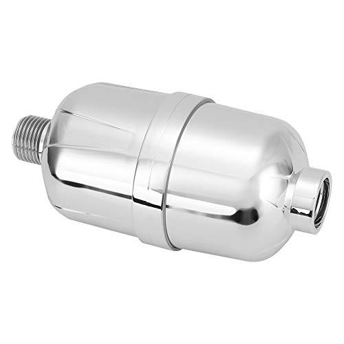 Purificador de água para ducha, cartuchos de reposição de filtração, filtros de carbono ativado de 8 graus Filtros de água para ducha de alto desempenho Ducha manual para hotéis(Silver, SY-14)