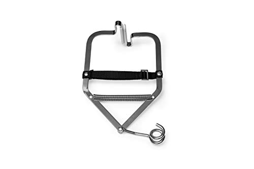 BabyBubu - Pinza de puerta para hamacas de bebé | Soporta hasta 15 kg | Para marcos de puerta con un grosor máximo de 30 cm | para cuna de muelles y columpios de bebé con suspensión de un punto.