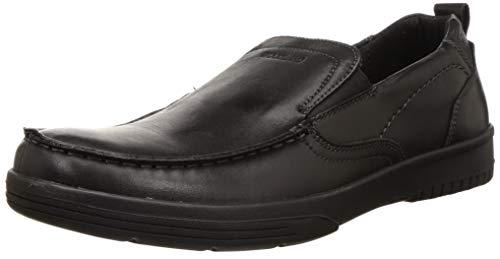 Woodland Men's Black Moccasins - 6 UK (40 EU) (7 US) (GC 3204419)