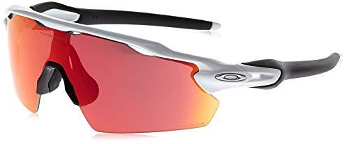 Oakley mens Oo9211 Radar Ev Pitch Sunglasses, Polished White/Prizm Field, 138 mm US