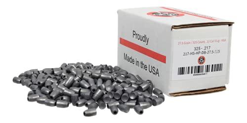 Nielsen Specialty Ammo Airgun Slugs - .22 Caliber (.217), 27.5 Grain, 325 Count