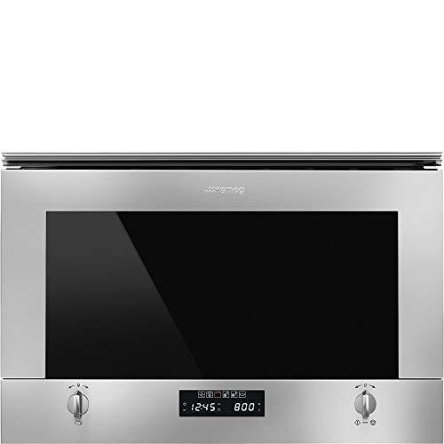 Smeg MP422X1 forno a microonde Incasso Microonde con grill 22 L 850 W Acciaio satinato