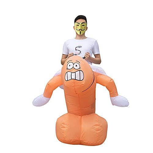 Disfraz inflable divertido para adultos/adolescentes, para cosplay, Halloween, Navidad