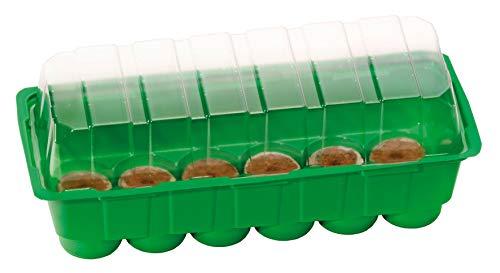 Romberg S Plus Coco Maison de Culture avec 12 Noix de Coco et 12 comprimés à Source, caniveau d'eau Vert