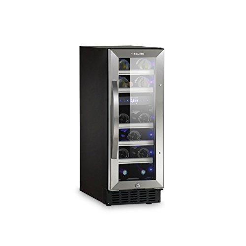 Dometic MaCave S17G - Weinschrank, 17 Flaschen, Weinkühlschrank mit zwei Temperaturzonen, Getränke-Kühlschrank