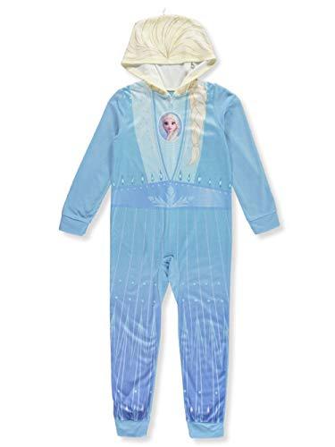 Girls Frozen Elsa Union Suit Size 8