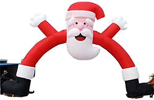 HIGHKAS Arco Inflable de la Actividad del Hotel del comerciante, Suministros navideños, Arco navideño para artículos publicitarios para Fiestas, Decoraciones para Eventos/Producto Inflable, Baile d