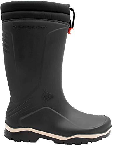 Dunlop K486061 Blizzard - Stivali di gomma da lavoro, Unisex-Adulti, Nero, 41 EU