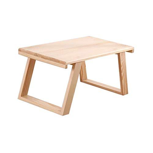 YLCJ tafel voor laptop tafel massief houten ontbijttafel voor kinderen Kinderlijk eenvoudig modern (grootte: 50 cm)
