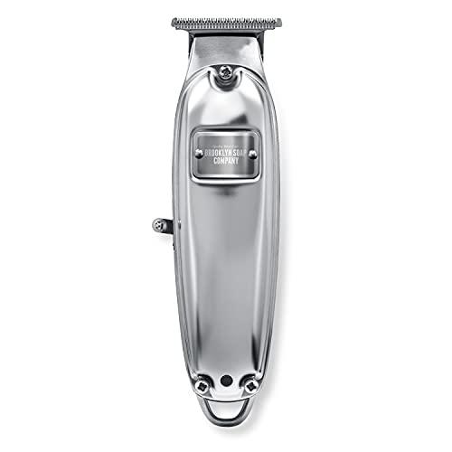 Brooklyn Blade® · Brooklyn Soap Company · Profi Barttrimmer für Zuhause · Trimmer + 5 Aufsätze (2-10 mm)