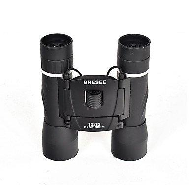 WYFC 12x32 mm Jumelles BAK4 Haute Définition/Télescope/Etanche/Antibuée/Générique/Coffret de Transport 87ft/1000yds 3Mise au
