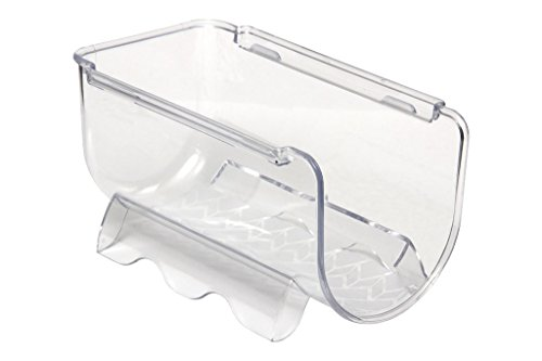 Botellero para frigoríficos | para una Botella de 2 litros | Estante apilable Transparente
