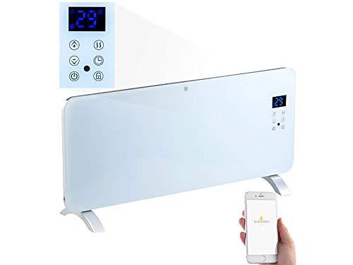 Sichler Haushaltsgeräte Elektro Heizung: Konvektor-Heizung mit App, für Amazon Alexa & Google Assistant, 2000 W (Standheizung)