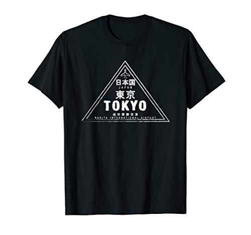 Tokyo Japan Passport Stamp Vacation Travel Souvenir T-Shirt
