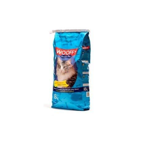 WOOFFY Pienso para Gato NG Pescado Fish 18 kg. Pienso Completo y equilibrado.
