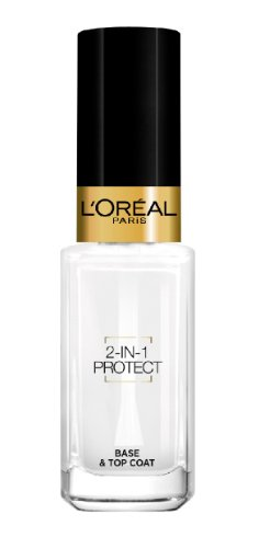 L'Oréal Paris Make-Up Designer Color Riche La Manicure 2-in-1 Protect top coat...
