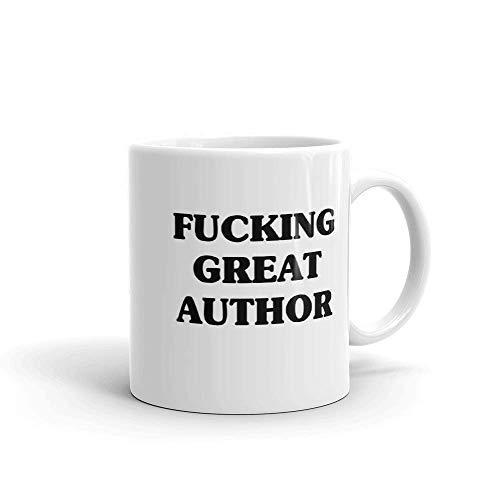 Keramikbecher,Kaffeebecher,Kaffeetasse,Autor Lustige Gag Geschenkidee Teetasse Auf Beiden Seiten Gedruckt