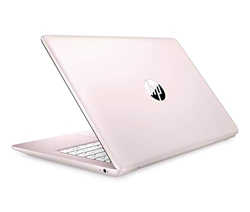 Newest HP Stream 14inch HD(1366x768) Display, Intel Celeron N4000 Dual-Core Processor, 4GB RAM, 32GB eMMC, HDMI, WiFi, Webcam, Bluetooth, Win10 S, Rose Pink(Renewed)