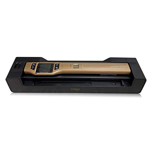 Vupoint Solutions Magic Wand Portable Scanner with Color LCD Display and Auto-Feed Dock (PDSDK-ST470A-VP)