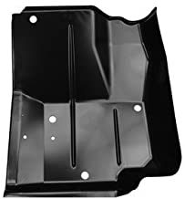 KeyParts Front Floor Pan Jeep Wrangler YJ Driver Side
