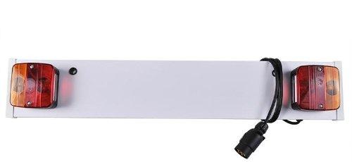 Rampe Eclairage signalisation remorque Caravane Anti Brouillard + Cable - 80cm