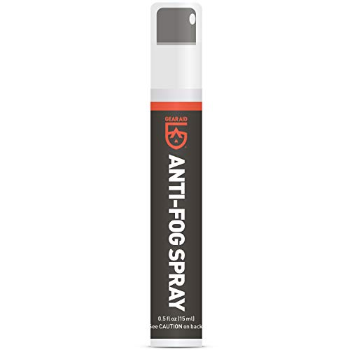 GEAR AID Anti-Fog Spray and Cleaner for Goggles, Masks and Glasses,...