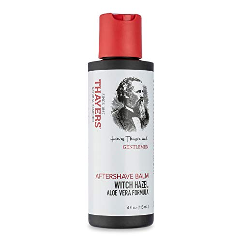 THAYERS Gentlemen's Collection Witch Hazel Aloe Vera Aftershave Balm, 4 oz