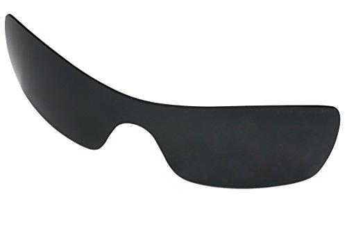 Lentes polarizadas gafas de repuesto para Oakley Batwolf con (negro oscuro) protección UV
