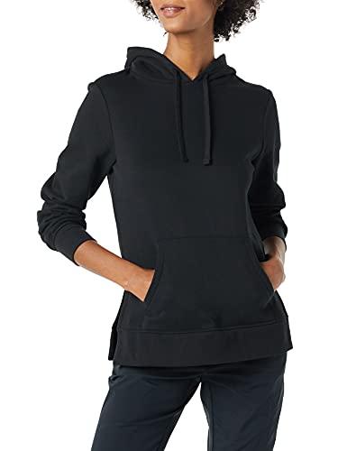 Amazon Essentials Sudadera Tipo túnica de Rizo francés con Capucha, Negro, M