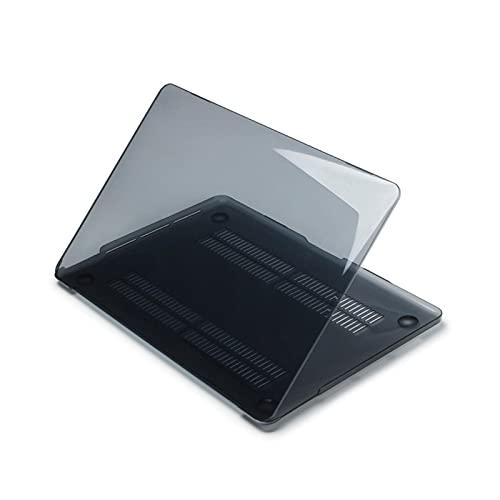 Laptop-Hülle für MacBook Air13 A2337 A2179 A2338 2020 M1 Chip Pro 13 13.3 für Mac Air Pro Touch Bar ID Case-Crystal Black-Old Air A1466 A1369