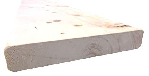 rc-holzgestaltung Zirbenbrett Zirbenbretter Zirbenholz Zirbenbett Brett Bohle Zirbe 165/200x25x4,3 cm (165)