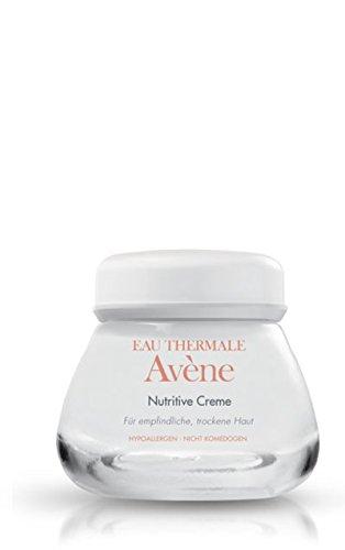 Avène nutritive Creme Pflege-Set 2x50ml. Für empfindliche, trockene Haut. verleiht müder und fahler Haut einen strahlenden Teint, macht sie zart und geschmeidig