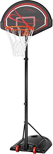 Soporte de baloncesto, soporte de baloncesto alto ajustable Red de baloncesto separado, soporte de baloncesto portátil,Red