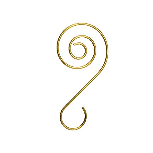 Kurt S. Adler W5130 Ornament Hooks, Gold, 30 Hooks