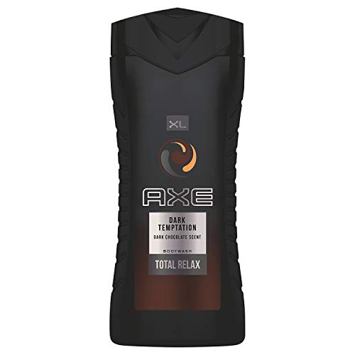 Axe Gel Douche Homme XL Dark Temptation Dark Chocolate Scent Total Relax 400ml (lot de 3)